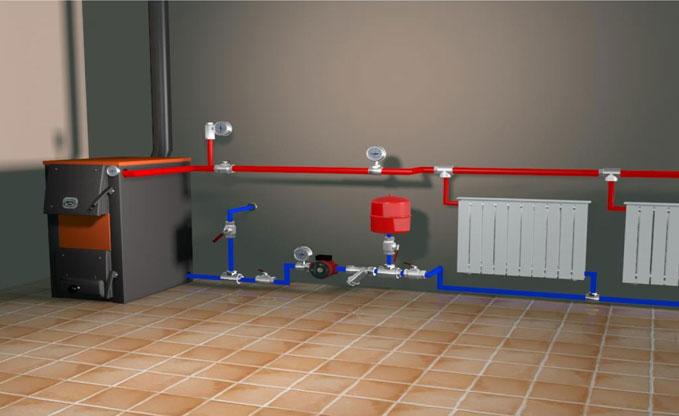 Коллекторная система отопления частного дома своими руками фото 385