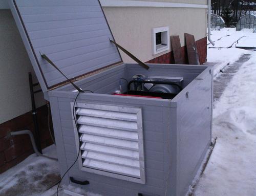 Кожух для электрогенератора своими руками - Gksem.ru