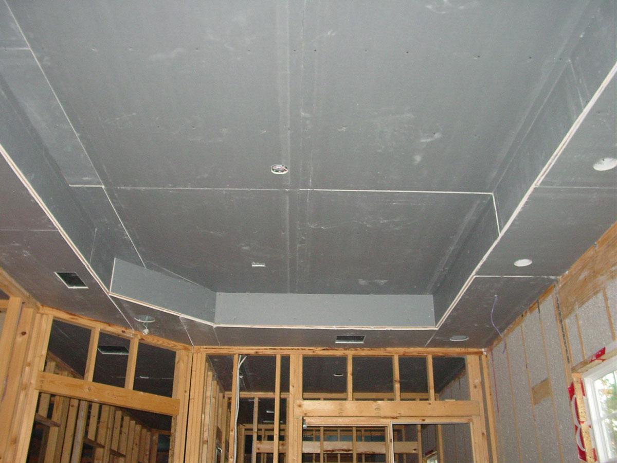 Простой потолок своими руками фото