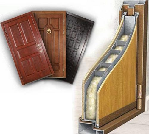 железные двери для квартиры с хорошей шумоизоляцей
