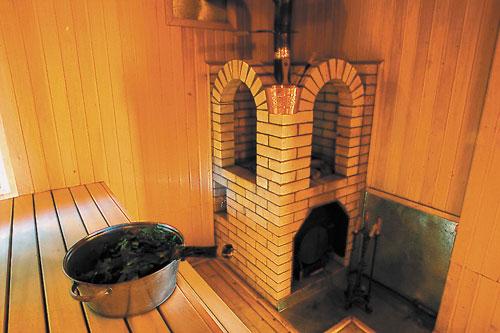 Каменная печь для сауны