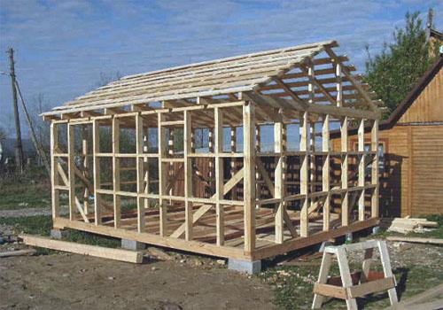Технология строительства крыши своими руками