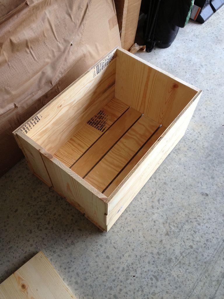 Простой ящик из фанеры своими руками 97