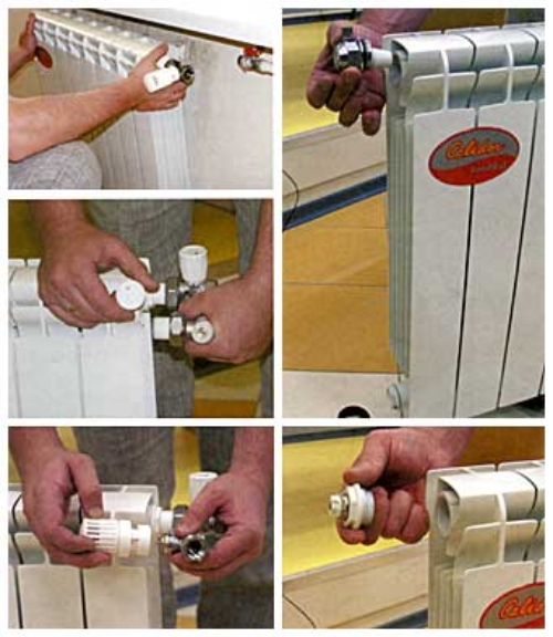 Собираем радиатор отопления