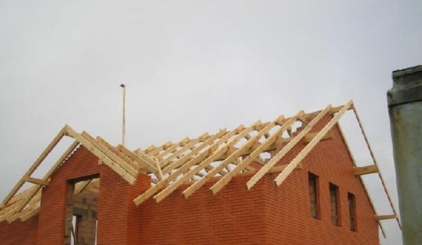 Монтаж крыши частного дома