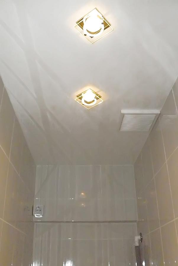 Ремонт потолков своими руками в туалете