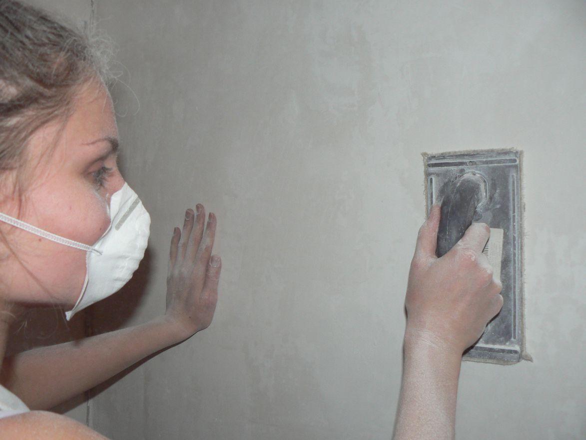 Выровнять старые стены своими руками