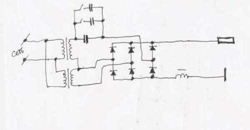 Самодельный плазморез – схема