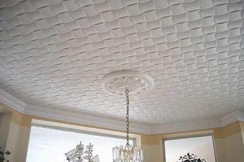 Бесшовный плиточный потолок