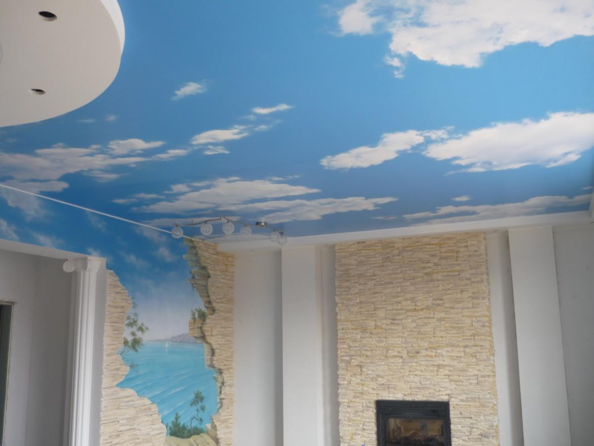 Ремонт потолков своими руками плитка