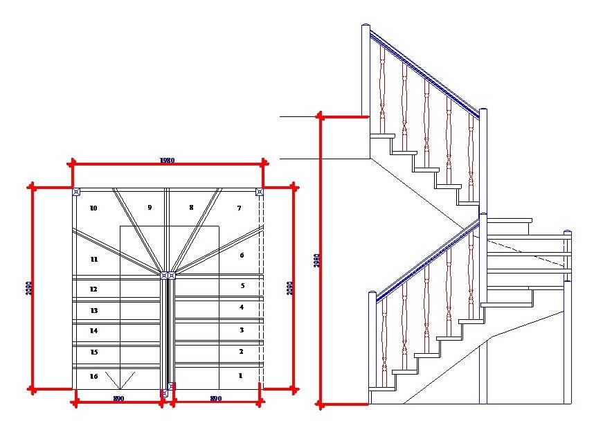Всё для лестниц | Готовые лестницы, готовые лестницы из ...