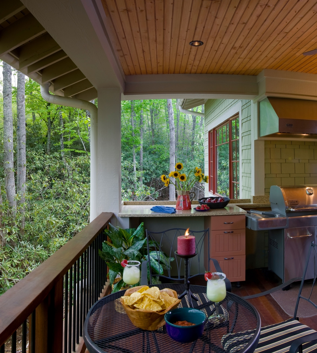 for Indoor outdoor kitchen designs