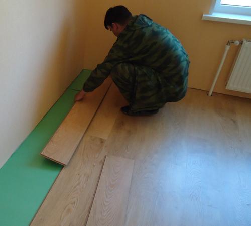 Ремонт деревянного пола в квартире своими руками