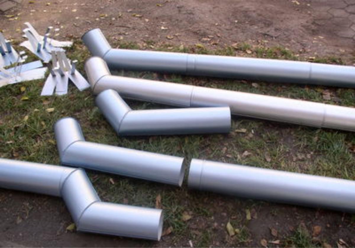 Оцинкованная водосточная труба своими руками фото 576