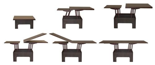 Стол-трансформер обеденный деревянный