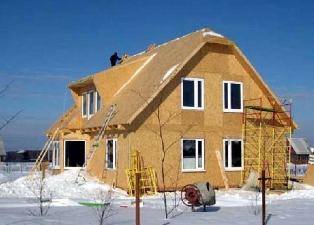 Дом из деревянных панелей своими руками