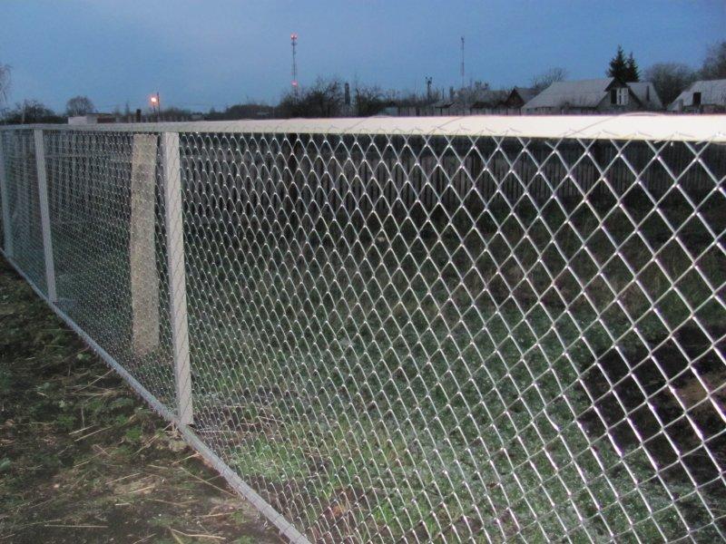 Смета на забор из сетки рабицы