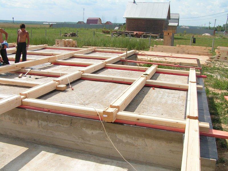 Как построить своими руками дом из профилированный брус 126