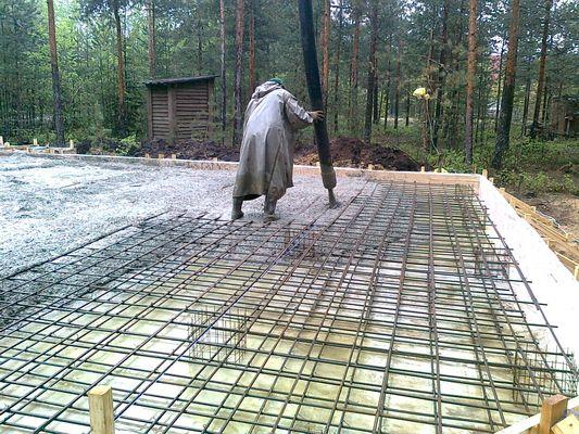 Nalievanie betónu