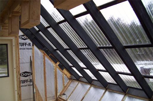 Крыши из поликарбоната своими руками фото