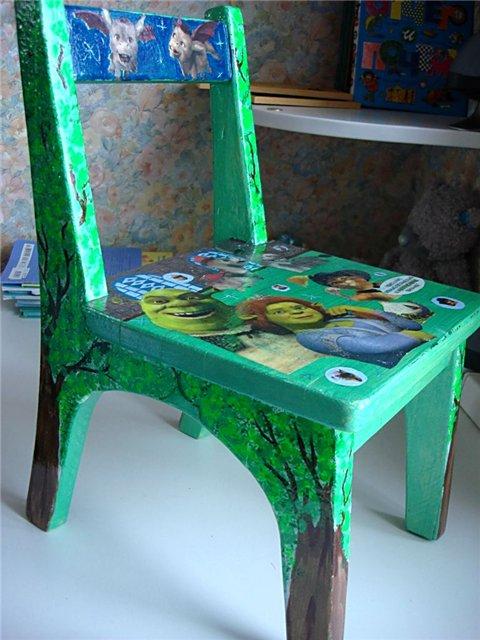 Детский стульчик своими руками фото 35