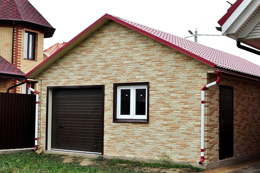 Дешевый вариант постройки гаража