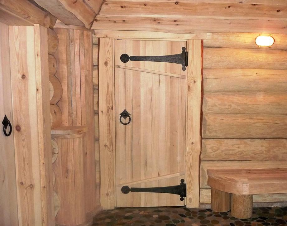 Фото дверь в баню своими руками