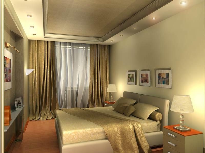 Дизайн маленьких комнат спален