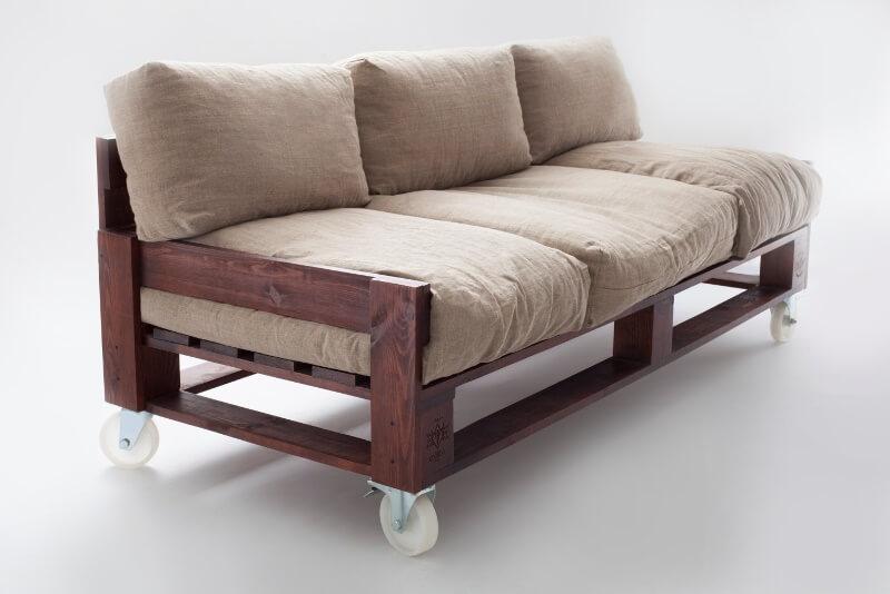 Мягкий диванчик своими руками