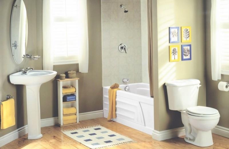 Перегородка в ванной комнате: актуальность проблемы