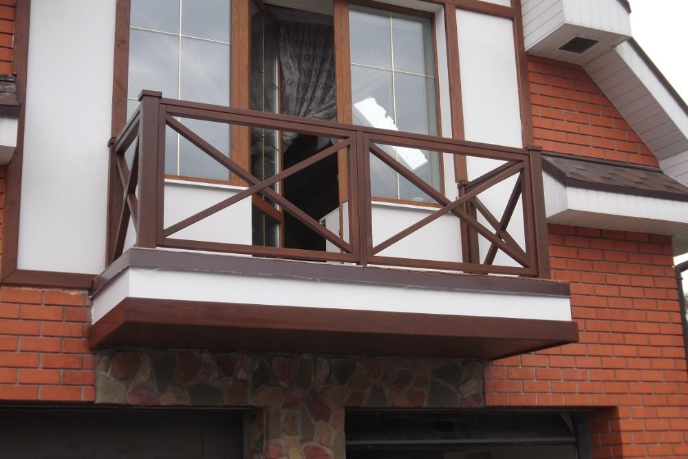 Балкон из металла в частном доме своими руками