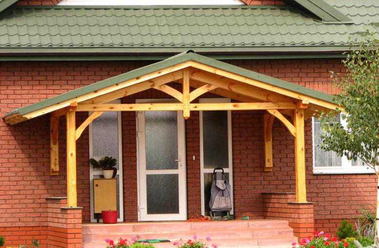 Козырек крыши в доме своими руками