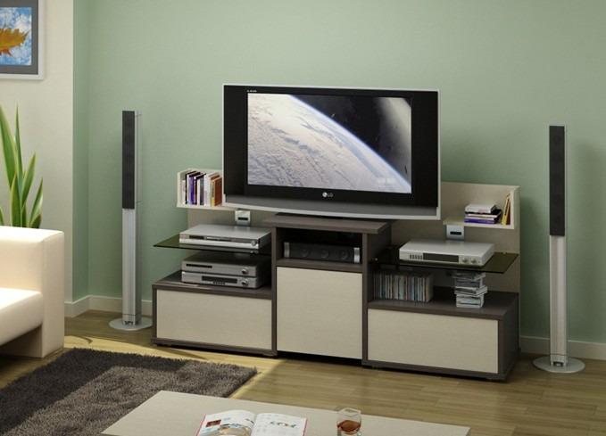Длинная тумба под телевизор с