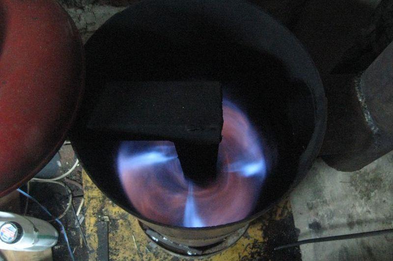 Как сделать печь на отработки масло