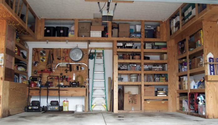 Удобный гараж своими руками фото