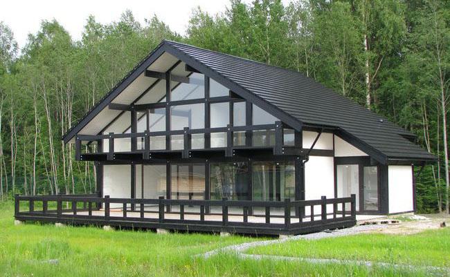Дом в стиле фахверк своими руками