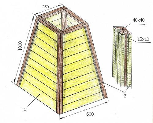 Мельница в сад своими руками пошаговая инструкция 14