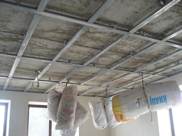 обшивка стен и потолков гипсокартоном цена