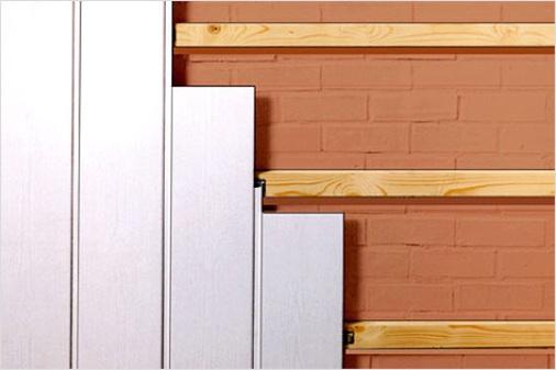 Обшивка стен панелями пвх