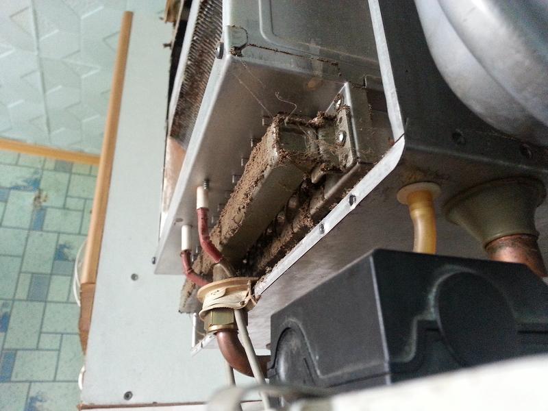 Засоряется теплообменник в котле вайленд максимальная температура для использования теплообменников с медными трубами