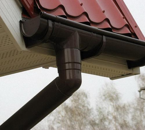 Сливная система для крыши