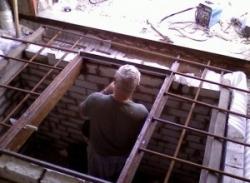 Потолок в гараж из пластиковых панелей