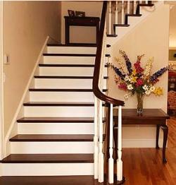 Как обшить лестницу своими руками