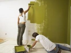 Как покрасить стены акриловой краской, Строительный портал