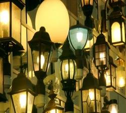 Как сделать светильник для дачи