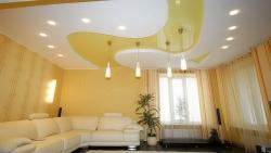 Сочетание гипсокартона и натяжного потолка, Строительный портал
