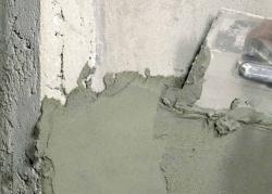 Штукатурка бетонных стен методом «набрызга» своими руками 32