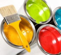 Как рисовать строительной краской