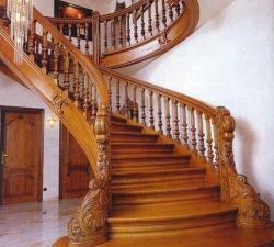 Перила для лестницы из дерева, Строительный портал