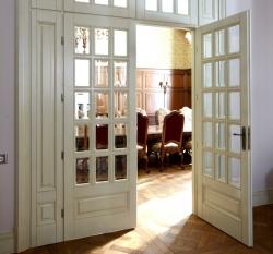 Межкомнатные двери двухстворчатые своими руками